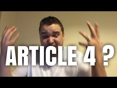 What is Article 4? | HMO Rules and Regulations