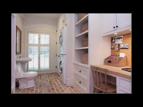 Basement bathroom laundry room designs