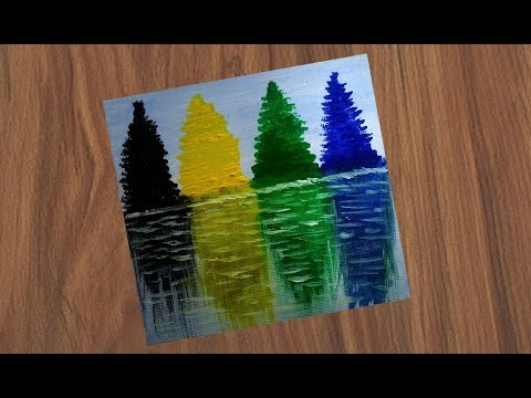 acrylic-painting-|-abstract-painting-|-easy-&-simple-painting-|-landscape-painting-for-beginners
