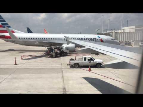 American Airlines Full Flight Fort Lauderdale - Columbus (Via Washington Regan)
