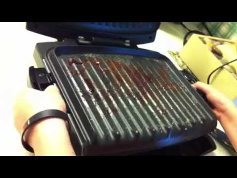 How to Remove the George Foreman Grill Plates