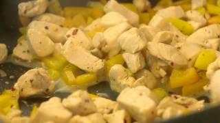 Paleo Almond Satay Chicken With Zucchini Noodles Recipe