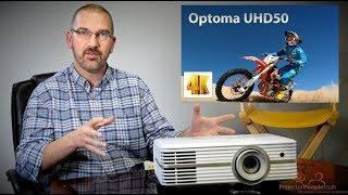 Optoma UHD50 4K DLP Projector $1399!