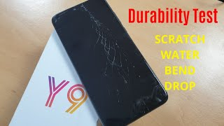 [Hindi] Huawei Y9 (2019) Durability (DROP, SCRATCH, WATER, BEND) Test | Gupta Information Systems
