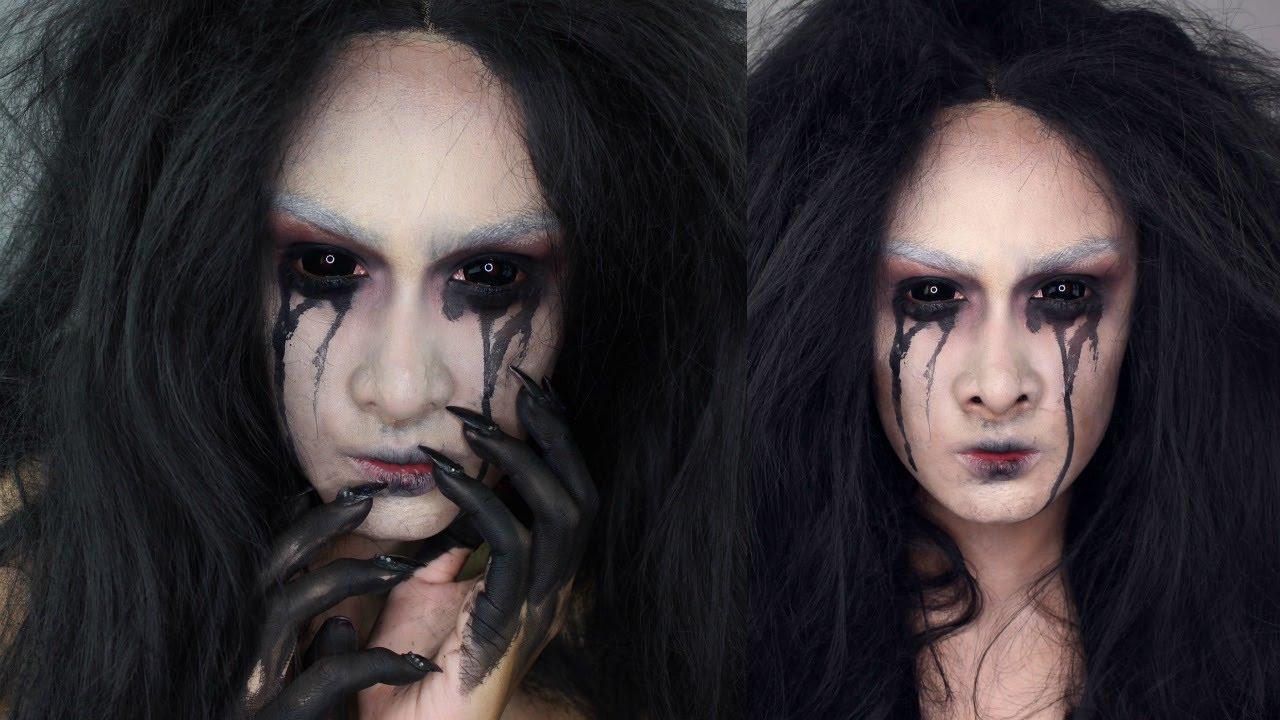 Demon Girl Halloween Makeup Tutorial - YouTube  Demon Halloween Makeup