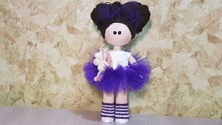 Кукла в стиле Тильды крючком