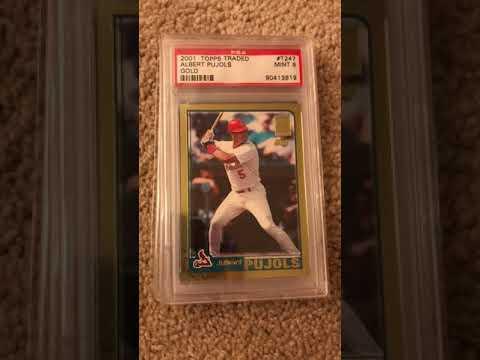 Ep. 13: My Ichiro Suzuki And Albert Pujols PSA Graded Baseball Rookie Card Collection PC Showcase