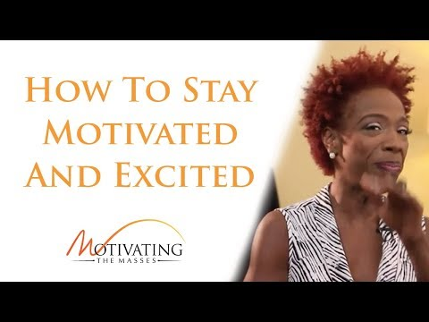 Lisa Nichols – How To Stay Motivated And Excited