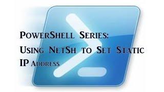PowerShell Series - How to set…