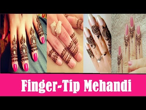 Latest finger tip mehandi designs //bridal mehandi 2017 \ Fashion Alert of 2017