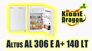 Altus AL 306 E A+ 140 LT Statik Tezgah Altı Buzdolabı incelemesi 2020