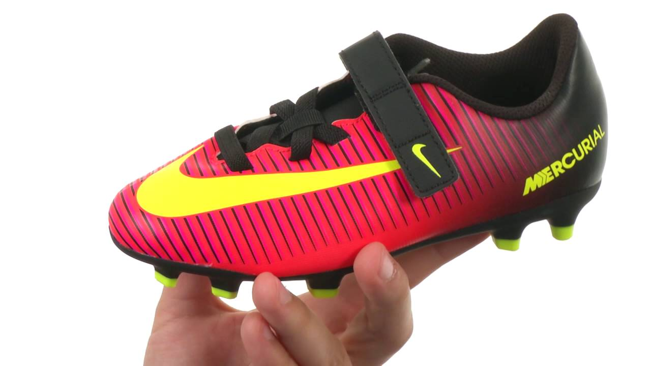 532e59800281 Nike Kids Jr Mercurial Vortex III (V) FG Soccer (Toddler/Little Kid) SKU :8675308