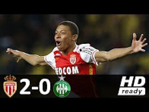 Monaco 2 - 0 Saint Étienne   Melhores Momentos   Campeonato Francês 17 05 2017 HD