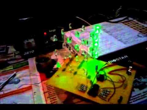 Светодиодный куб 3х3х3