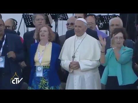 Vigilia de Pentecostés con el Papa Francisco por los 50 años de la Renovación Carismática Católica