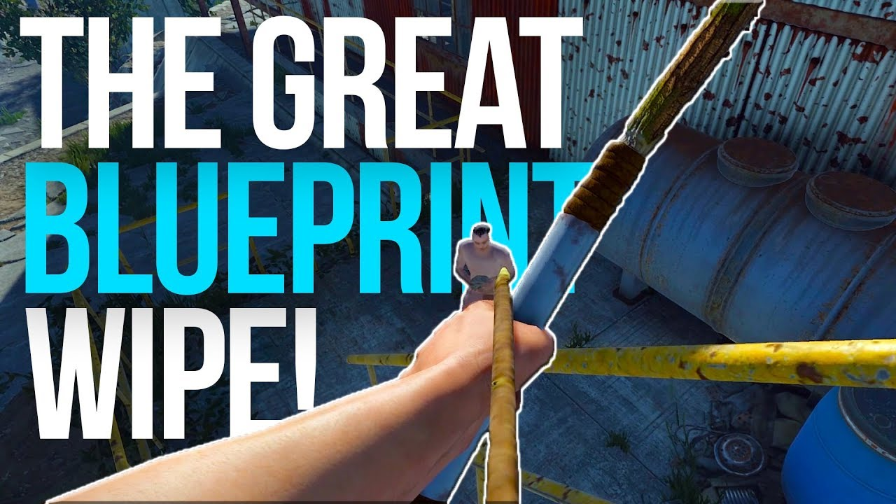 The great blueprint wipe rust group survival 1 youtube the great blueprint wipe rust group survival 1 malvernweather Choice Image