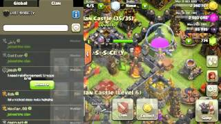 Clash of Clans Donating Mass Goblins