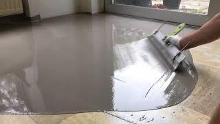 Cementdekvloer egaliseren - Albano Vloertechniek