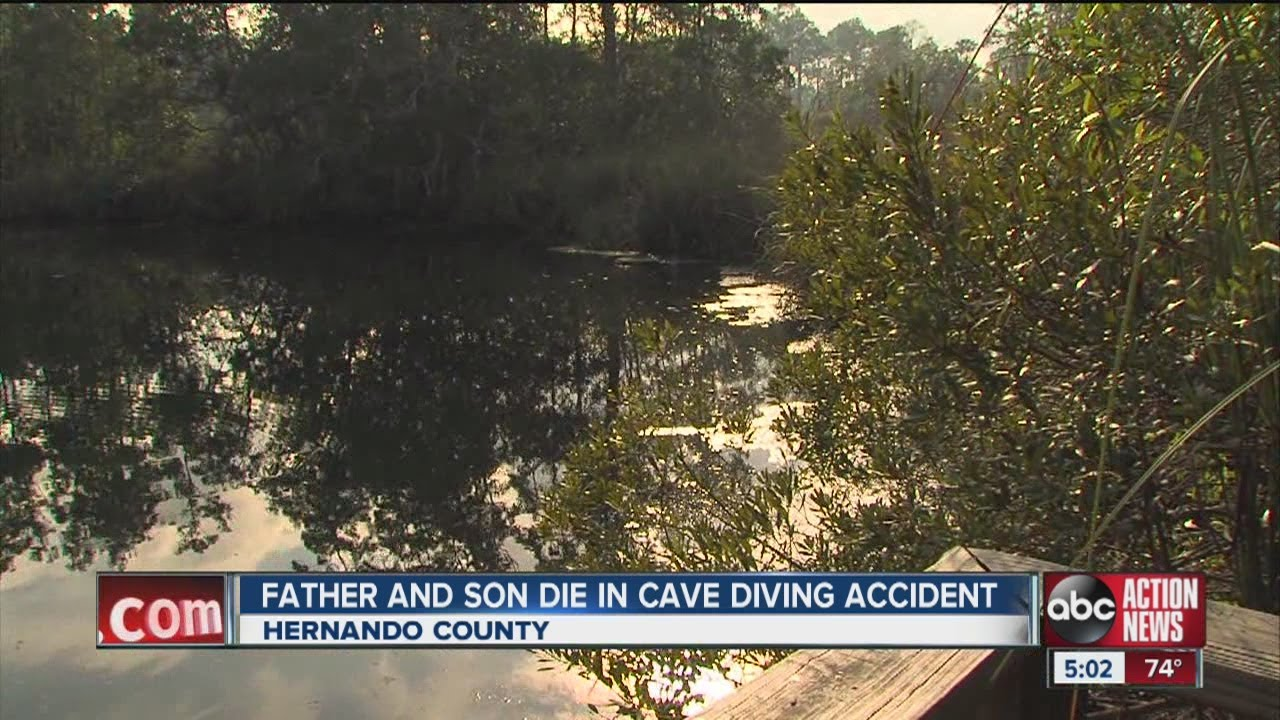 Father And Son Die Scuba Diving In Underwater Cave While Trying Out