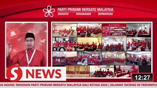 Bersatu holds third AGM virtually