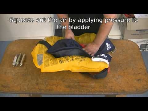 Hutchwilco inflatable lifejacket servicing