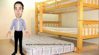 Barcelona Trio Bunk From Www.strictlybeds.co.uk