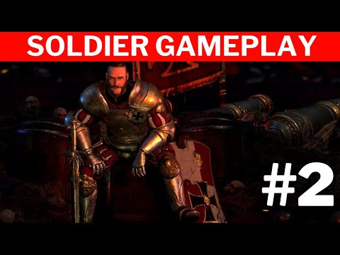 Warhammer Chaosbane Tomb Kings  #2 | Empire Soldier Gameplay |