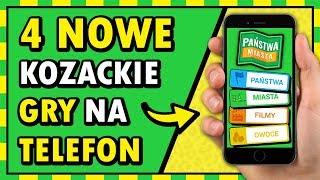 4 NOWE, KOZACKIE GRY NA TELEFON! (+ NOWOŚĆ W SERII)