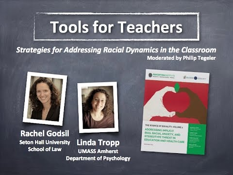 Tools for Teachers: Strategies for Addressing Racial Dynamics in the Classroom (NCSD Webinar)