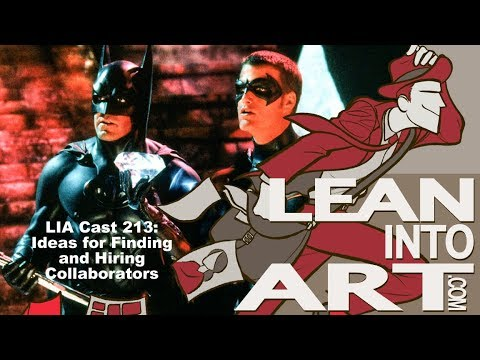 LIA Cast 213 - Ideas for Finding and Hiring Collaborators
