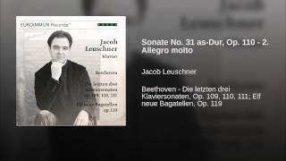 Sonate No. 31 as-Dur, Op. 110 - 2. Allegro molto