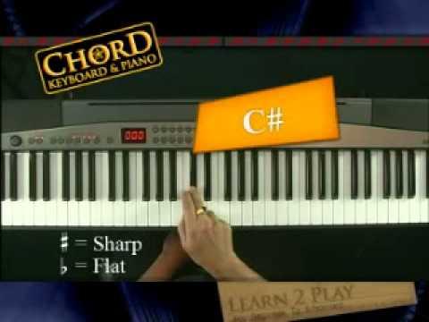 หัดจับคอร์ดคีย์บอร์ด และ เปียโน