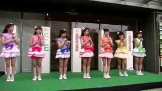 Miniature Garden 4th single「mint/アセロラノーツ」リリースイベント 会場:ミント神戸2Fデッキ特設ステージ.