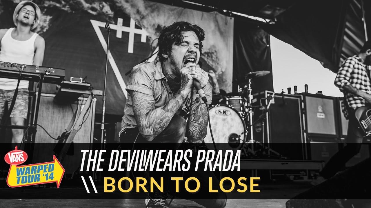 The Devil Wears Prada - Born to Lose (Live 2014 Vans Warped Tour)