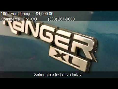 1995 Ford Ranger  for sale in Commerce City, CO 80022 at STA