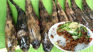 Yummy Fish Steam Glass Noodle Cooking | Fish steaming recipe | Natural Life
