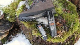 Обзор на средства по уходу за обувью и стельки Lowa, носки X-Bionic, гамаши Otto Gear. Видео по ботинкам: http://www.youtube.com/watc...