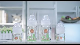 b&h Glass Feeding Bottle