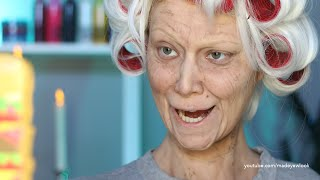 Old Lady Lex (Old Age) Makeup Tutorial (NO PROSTHETICS/NO LATEX) thumbnail