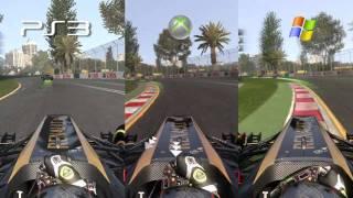 F1 2011 - PC vs. PS3 vs. Xbox 360 im Technikvergleich von GameStar