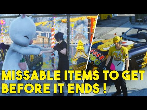Final Fantasy XV Things You Should Do Before The Carnival Ends