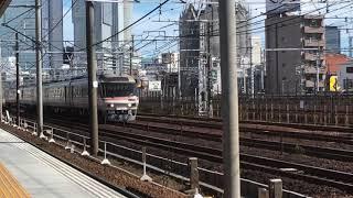 [久々にひだを撮影‼️]JR東海キハ85形 7両、名古屋〜枇杷島間 通過‼️