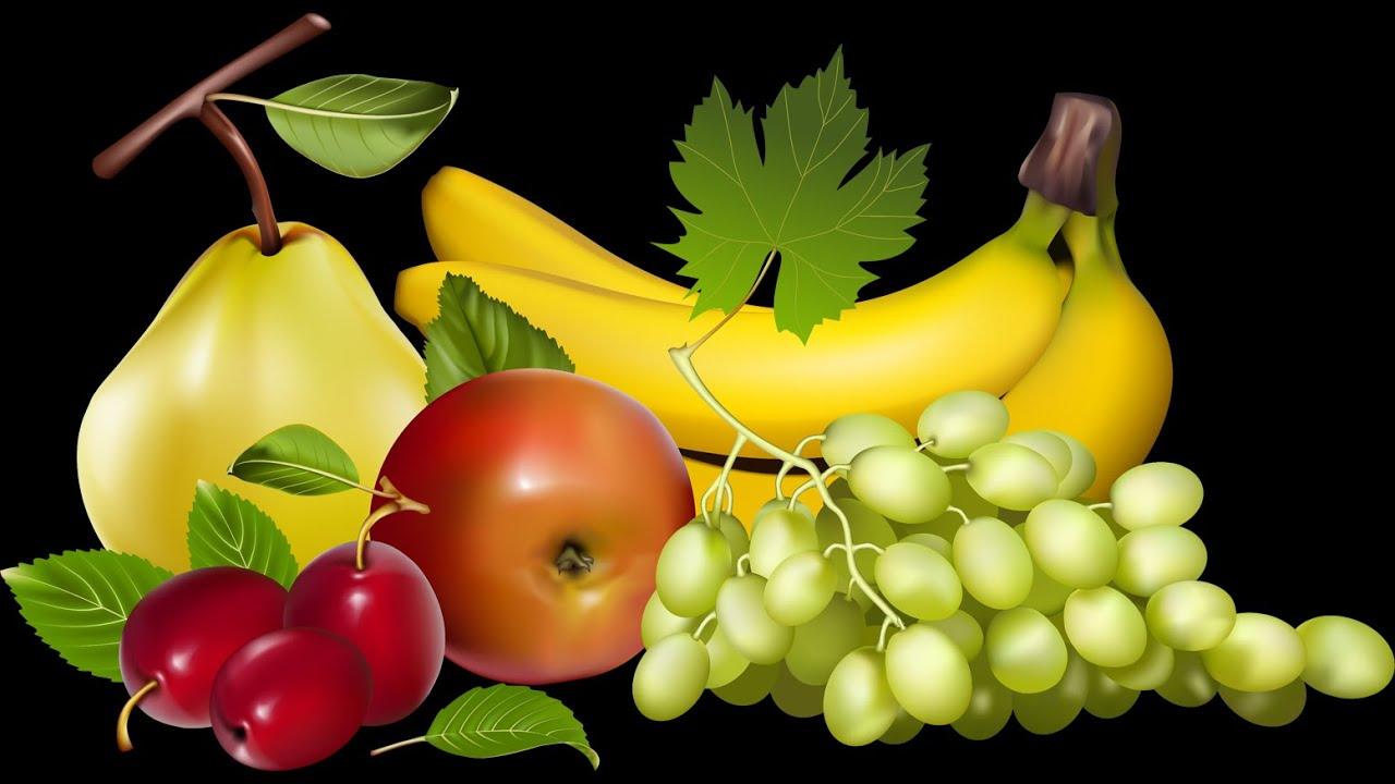 Изучаем фрукты, овощи и ягоды. Мультик для самых маленьких ...
