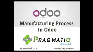 Odoo OpenERP Manufacturing Management MRP MPS