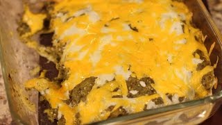Verde Salsa Chicken Enchiladas - Rockin Robin's Green Enchiladas