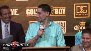 Garcia vs Herrera final press conference and face off video