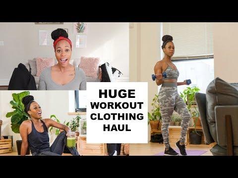 HUGE (AFFORDABLE)  WORKOUT CLOTHING HAUL!!!!