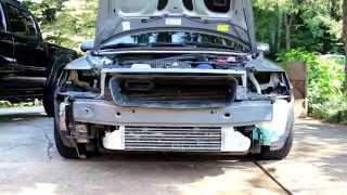 Volvo S40, Front Bumper Removal