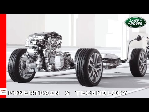 Powertrain & Technology   New 2020 Land Rover Discovery Sport P300e Hybrid Electric