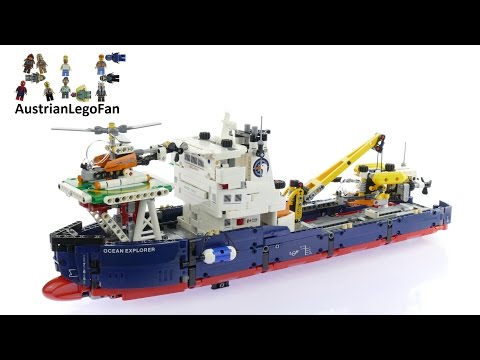 Lego Technic 42064 Ocean Explorer - Lego Speed Build Review